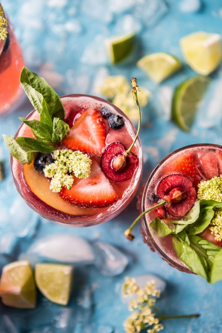 Toasting to the weekend with this summertime rose tequila sangria!