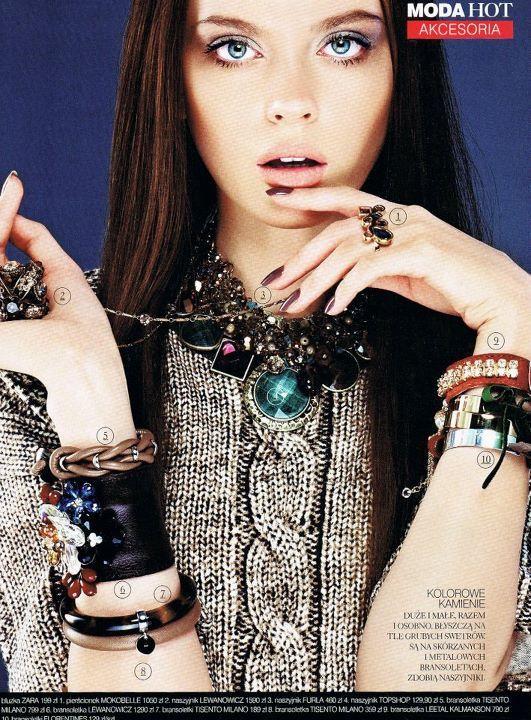 Model: Edyta Zajac Magazine: Hot, December 2011