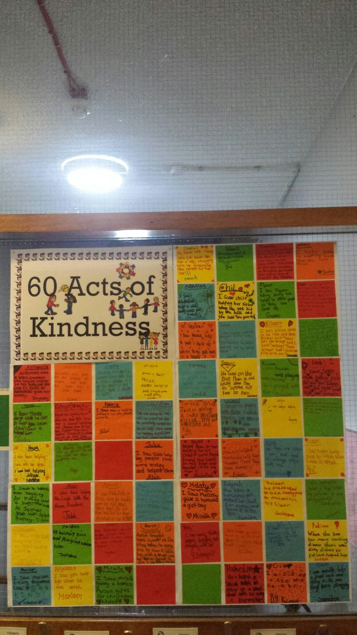 60 Acts of Kindness 2017