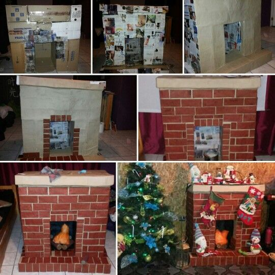 25 best chimenea de carton navidad ideas on pinterest - Ideas para chimeneas ...