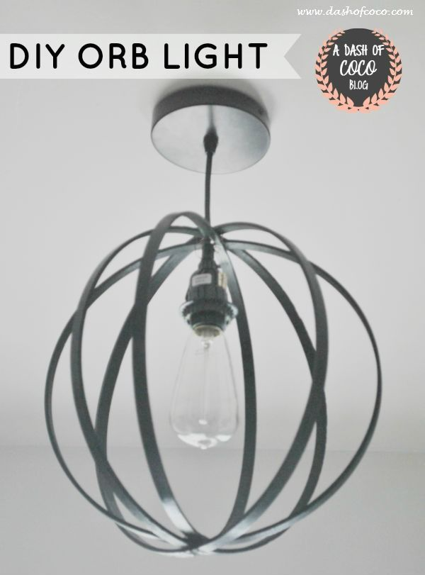BIG black one for foyer Medium WHITE one for the kitchen embroidery hoop light fixture