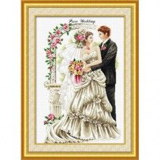 <b>Набор для вышивки крестом</b> DOME 111007 Безупречная свадьба ...