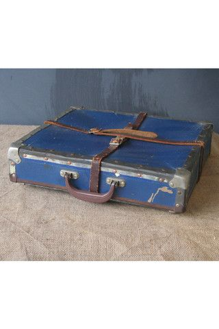 Film Reel Case in Blue at Mako Haus