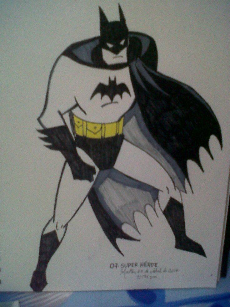 Superhéroe! BATMAN!