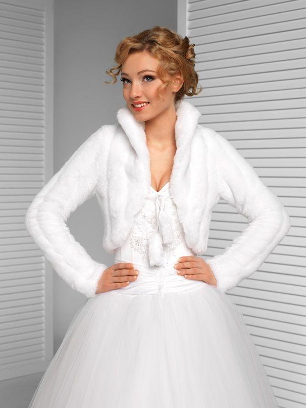 Bolerka | svatební kožíšek, všechny velikosti skladem! | Levné svatební šaty, svatební šaty levně - prodej