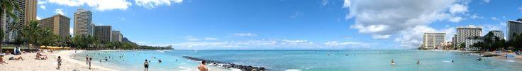 Waikiki Beach - Гавайи Медовый месяц