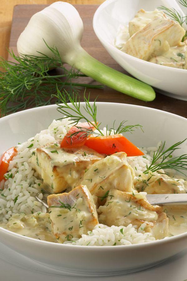 Rezept Feines Fischragout in Senfsoße