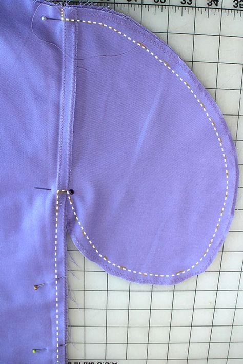 DIY Midi Circle Skirt with Pockets : No Pattern! - 5