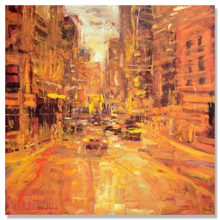 Jim Beckner - Urbanscape in Orange