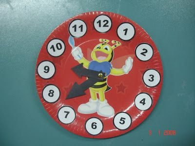 Kartondan Saat Yapımı
