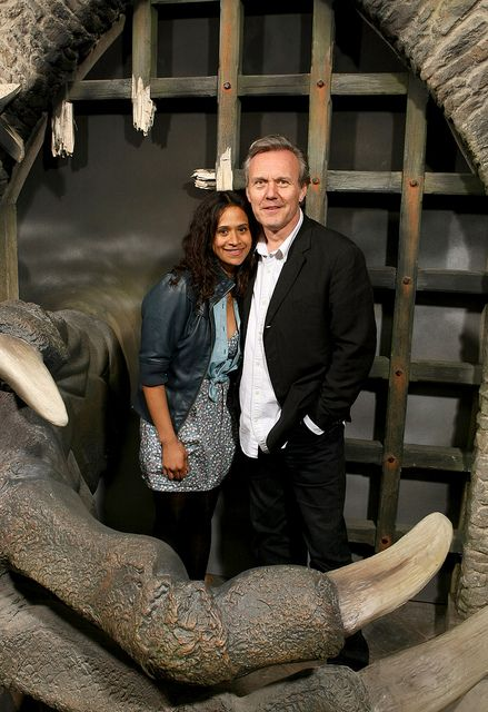 Angel Coulby and Anthony Head ~ Merlin
