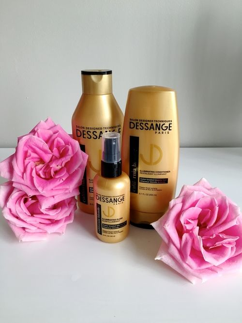 Dessange who  introduced me to the perfect hair care line, California Blonde. They  challenged me to use the line for 30 days to keep my blonde locks ...