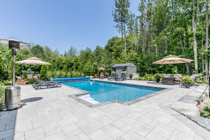 2017 Minesing Pool and Landscape Design