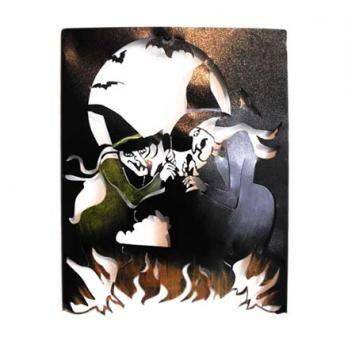 Brujas con Caldero 60 cm H x 47 cm W $200.000