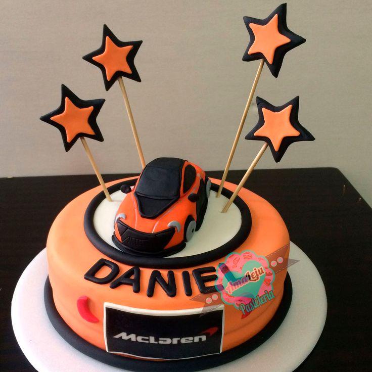Torta Mclaren Realiza tu pedido por; https://goo.gl/mvYBYv WhatsApp: 3058556189, fijo 8374484  correo info@amaleju.com.co Síguenos en Twitter: @amaleju / Instagram: AmaLeju #mclaren #torta #carro #funza #mosquera
