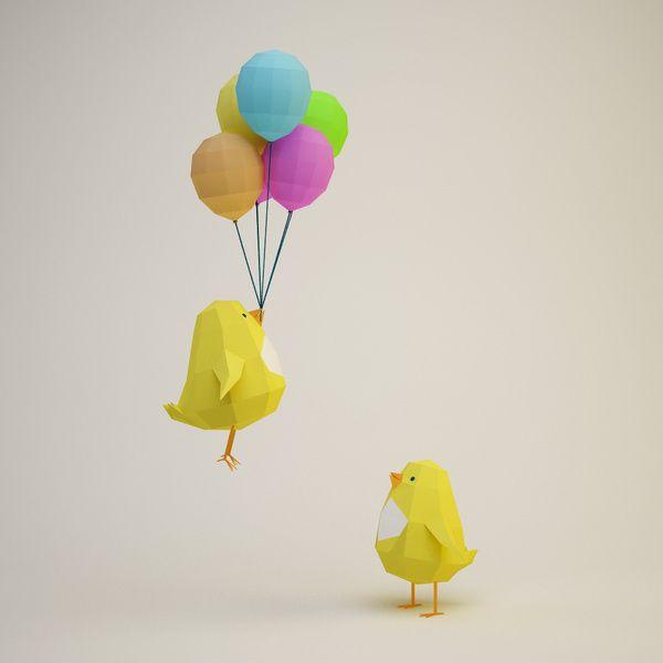 Birdy in _3d