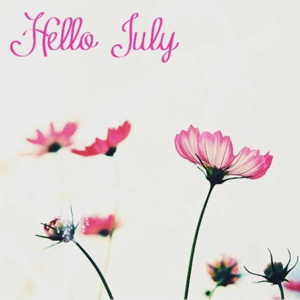 Welcome July !! Bemvindo ! #july #welcome #julho #vemcomtudo #bemvindo