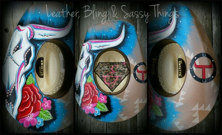 Custom Painted Rope Cans