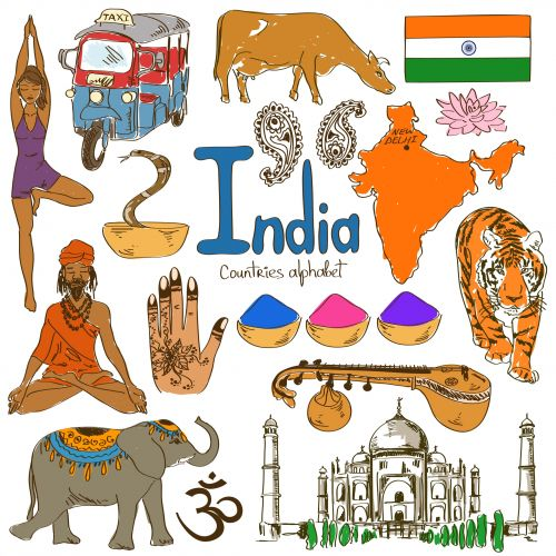 FREE GIVEAWAY for this page!  'I' is for India with this next alphabetical countries free download from KidsPressMagazine! #Geography #India #AsianCountries