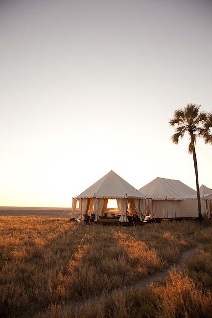 San Camp - Makgadikgadi Pans, Botswana