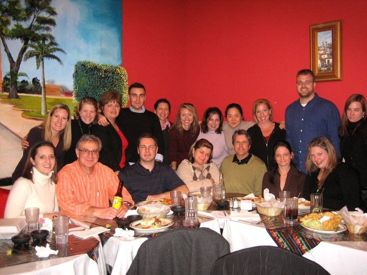The Ol' BWE Gang Farewell Lunch, Healdsburg, CA (circa 2007)