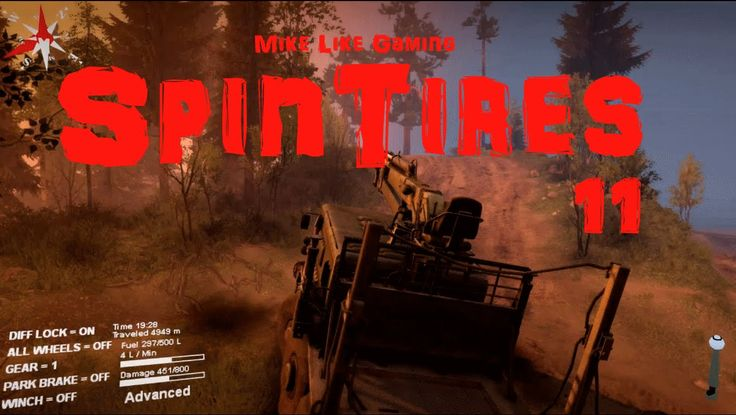 Haulin' in the mud in this episode of my playthrough of SpinTires Volcano Map.