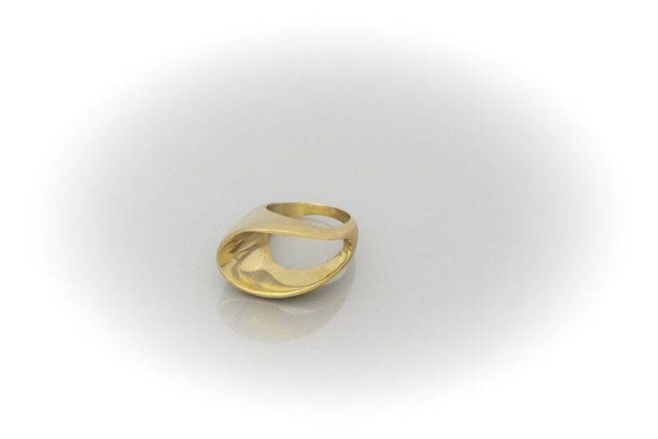 Brass ring by AtelierMarias on Etsy