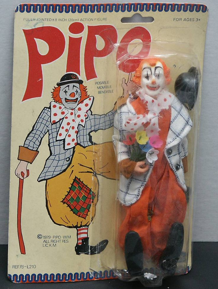 Pipo action figure. 1979.