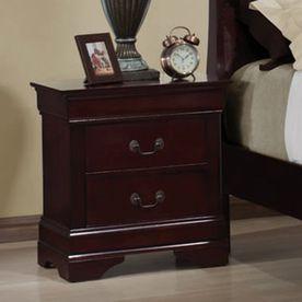 Coaster Fine Furniture Louis Philippe Cherry Nightstand 203972Ii