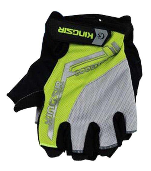 Cycling Equipment Summer Bike Gloves Riding Gloves Half Finger Green