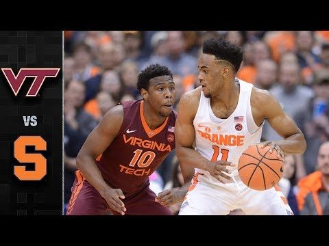 Virginia Tech vs. Syracuse Basketball Highlights (2017-18) - YouTube