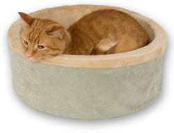 Thermo-Kitty Bed - Heated Cat Bed | CozyWinters