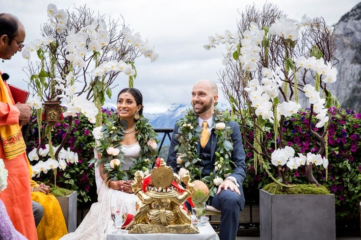 An Indian Wedding In The Mountains | Banff Wedding