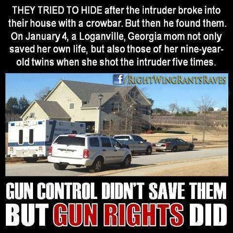 .Gun Control Didn't Save Them - BUT GUN RIGHTS DID!