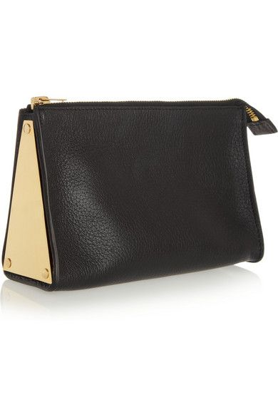 gold & black sophie hulme bag