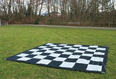 "9 Ft. Quickfold Nylon Chessboard for 25"" Giant Chess – Chess House"