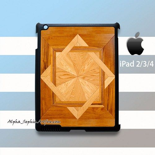 Floor Style Wood iPad 2 3 4 Case Cover