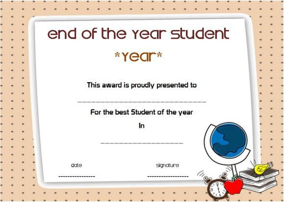 Student Award Template from i.pinimg.com