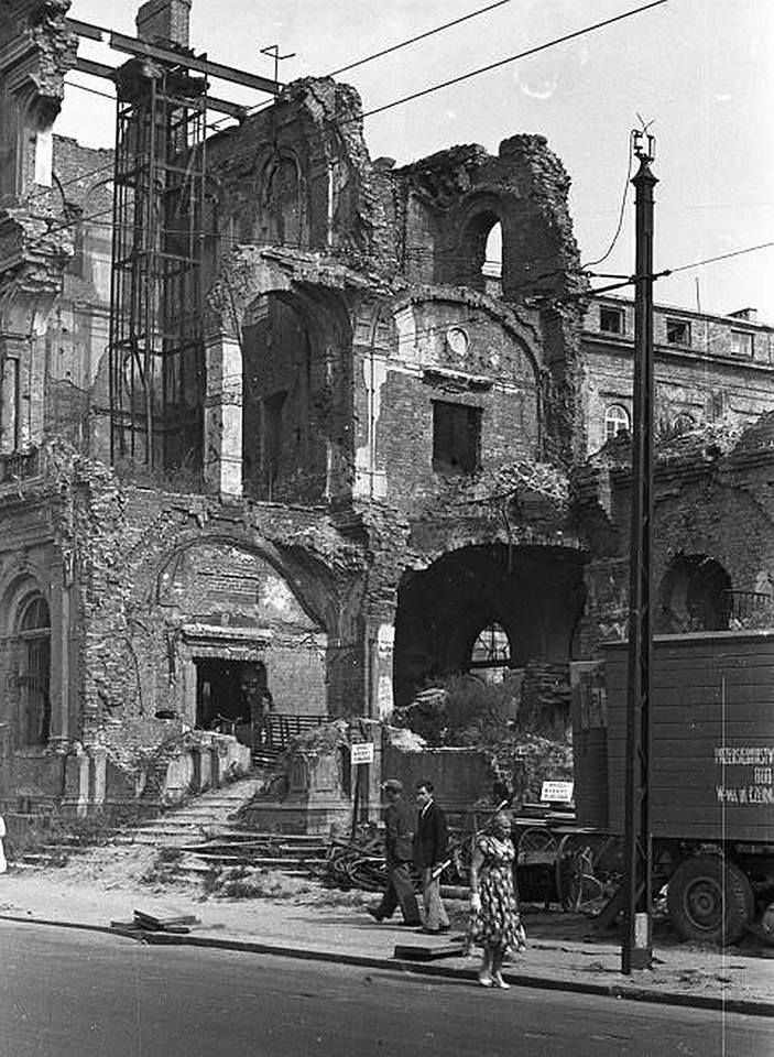 Warszawa, ul. Kredytowa (1958)