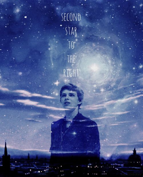 Ouat Wallpaper: Peter Pan Robbie Kay Wallpaper Seconnd Star To The Left