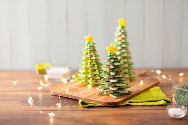 Cookie Christmas Tree - ILoveCooking