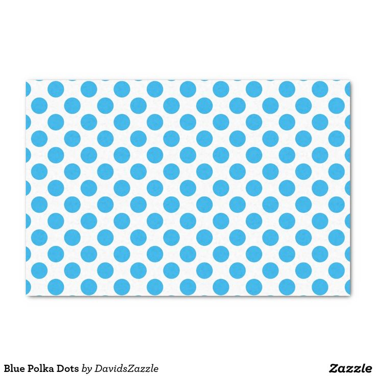 Blue Polka Dots Tissue Paper This design is available on many products! Click the 'available on' tab near the product description to see them all! Thanks for looking!  @zazzle #art #polka #dots #pattern #wrapping #paper #gift #bag #tag #birthday #holiday #color #black #white #blue #green #orange #yellow #purple #aqua #shop #buy #fun #chic #wrap #modern #classic #simple #easy #design #tag #ribbon #tissue