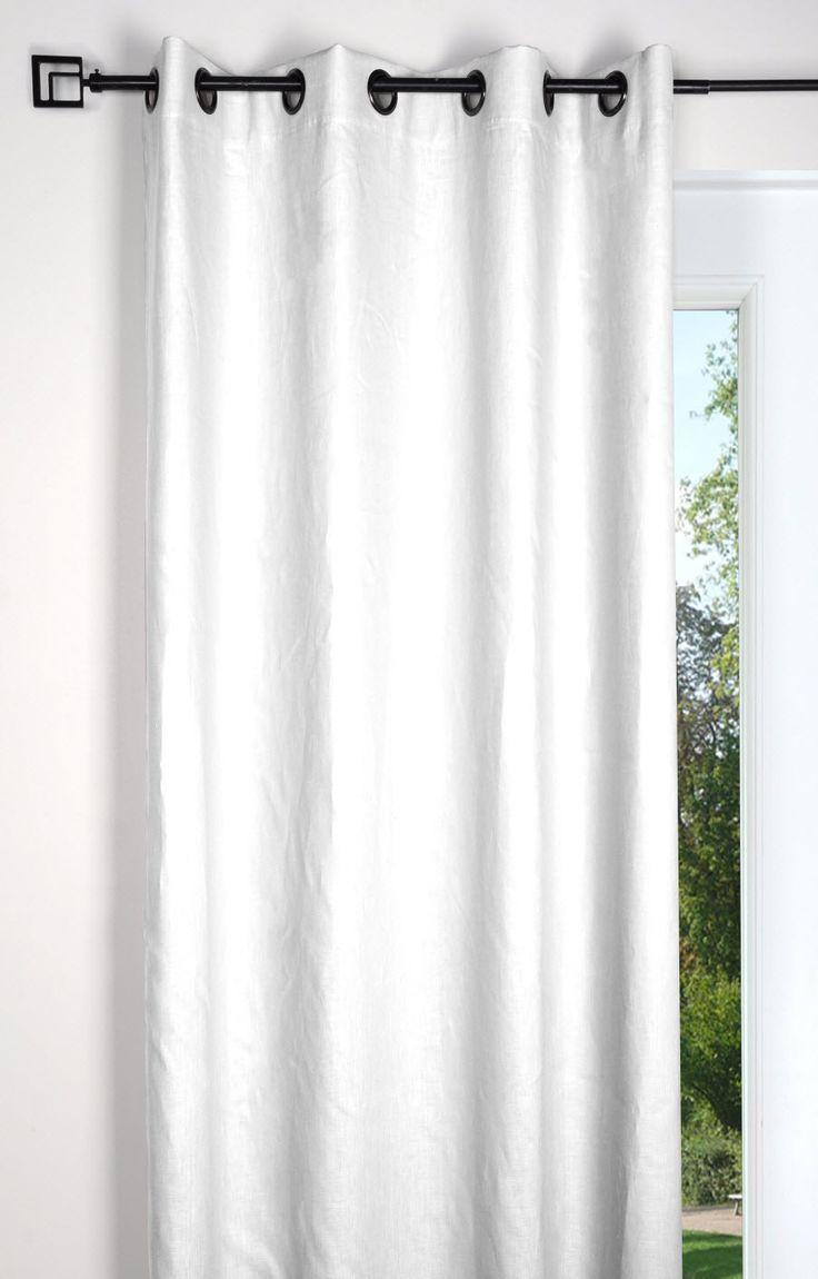 17 id es propos de rideaux de toile sur pinterest for Rideau pour chambre parentale