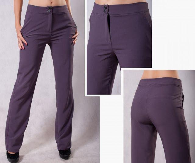 Построение выкройки женских брюк. Пошаговая инструкция.
