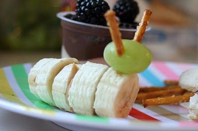 "banana fruit ""bugs"" for the little ones"
