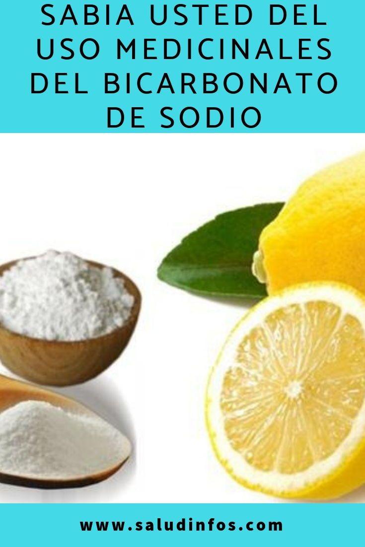 Sabia Usted Del Uso Medicinales Del Bicarbonato De Sodio Bicarbonato De Sodio Bicarbonato Vitaminas Y Minerales
