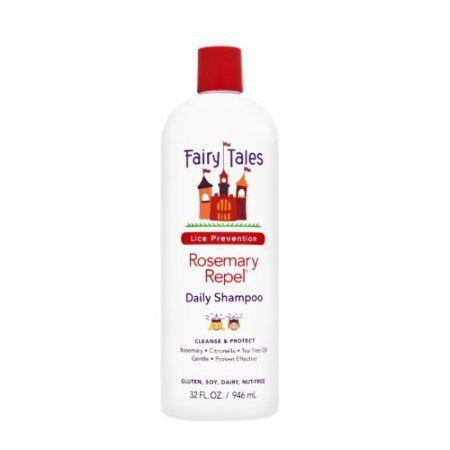 Fairy Tales Rosemary Repel Shampoo, 32 Fl Oz, Red