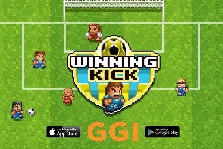 "Winning Kick revives the classic 8 bit and is ""the best way to pass time on the toilet"" according to a reviewer"