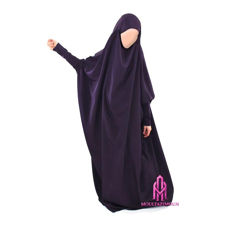 French-Algerian style Jilbab by AlMoultazimoun