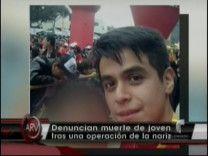 Joven Muere Tras Hacerse Una Operacion En La Nariz En Perú #Video